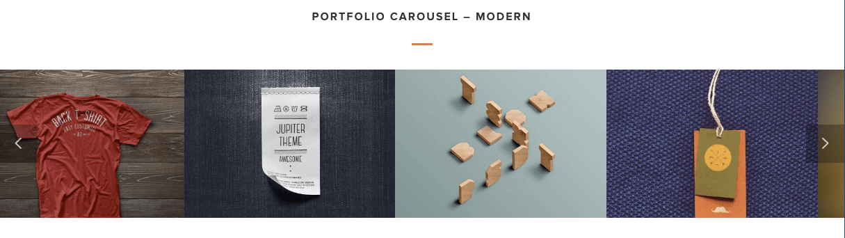 Photography Website Carousel Front End