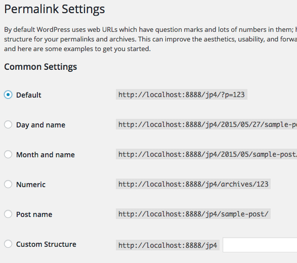 Pagination Problem settings