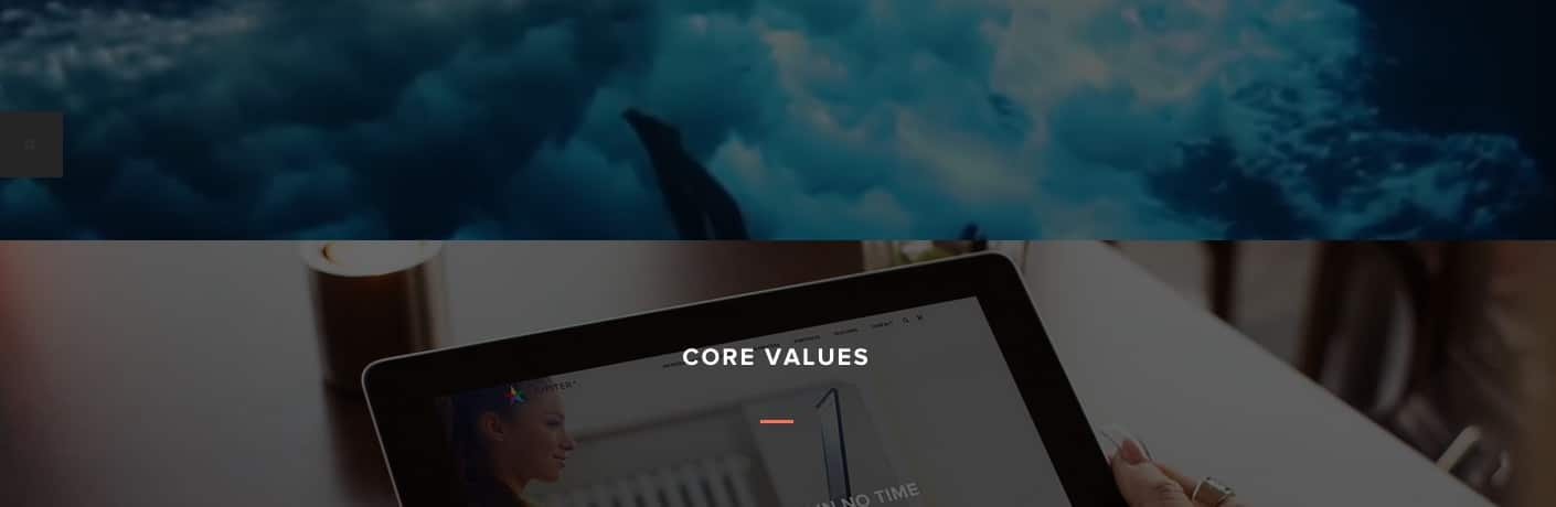 Parallax Page Demo Web Design Trends