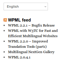 Widgets Per Language