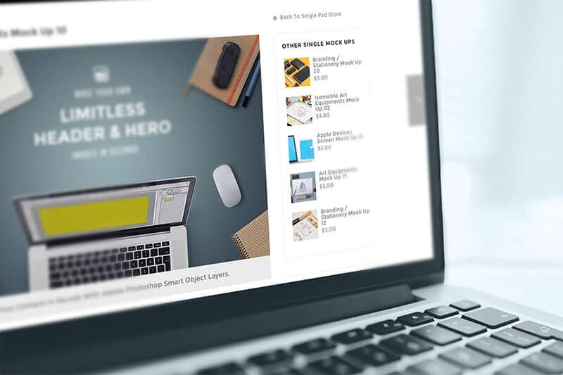 online store builder-engaging layout