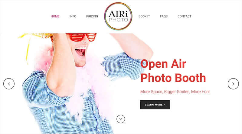 airiphoto- wordpress theme