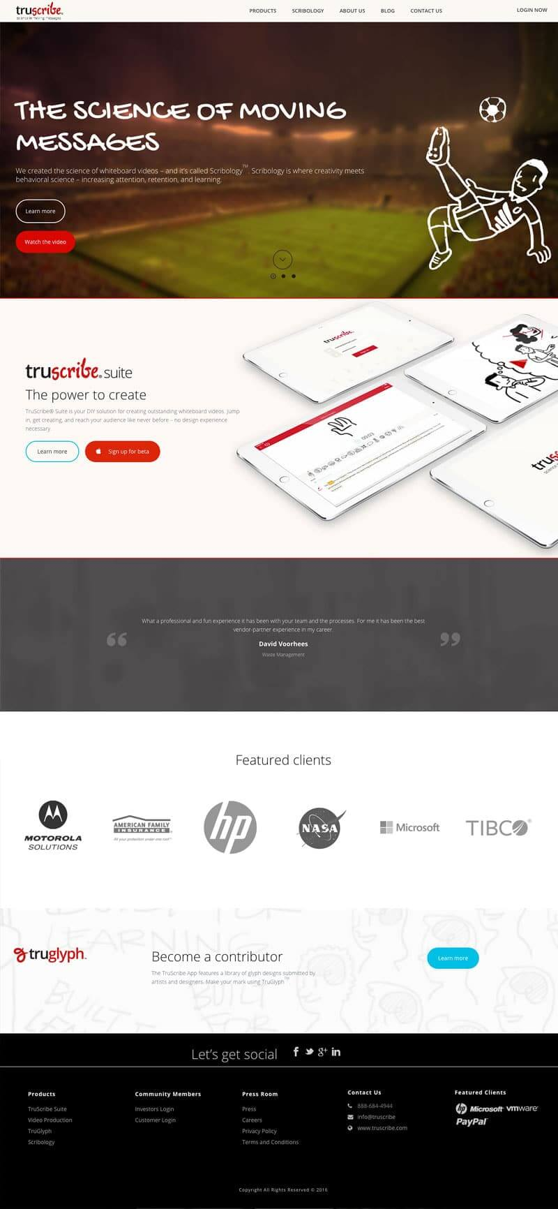 truscribe- artbees themes
