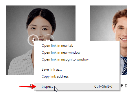 Adding extra CSS class to a shortcode - inspect