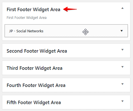 Adding content to footer - footer content