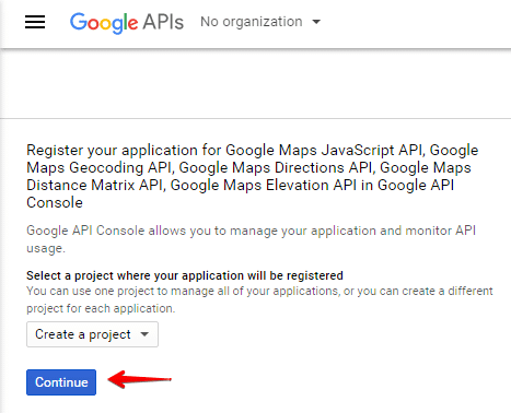Advanced Google Maps shortcode - third party api
