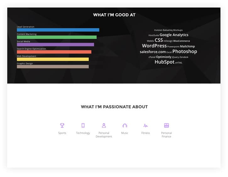 build a personal brand website
