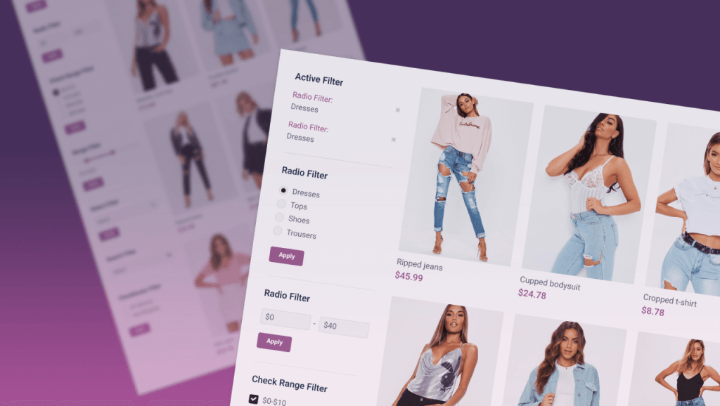 Add filters to WooCommerce and Custom Posts Featured Image