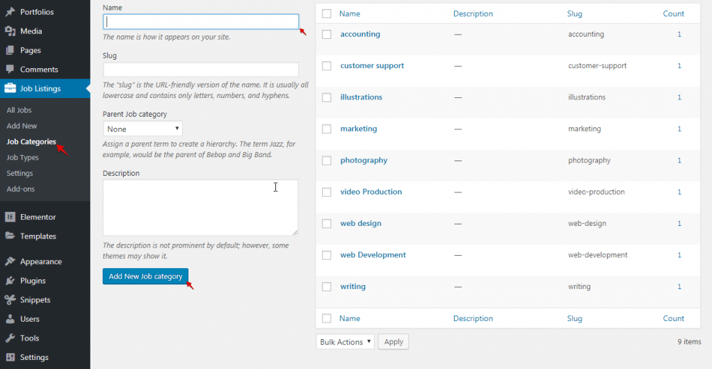 Create a Job Board in WordPress Screenshot 2