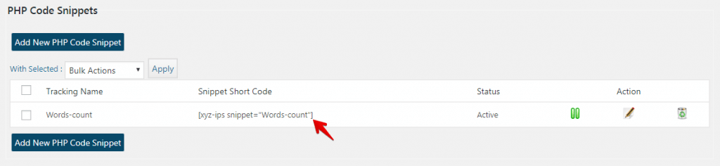 Custom Code Snippets in WordPress - PHP Code Snippets 4