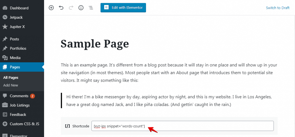 Custom Code Snippets in WordPress - PHP Code Snippets 5