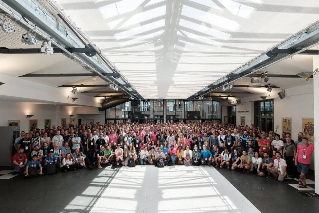 WordCamp Europe 2019 Group Photo