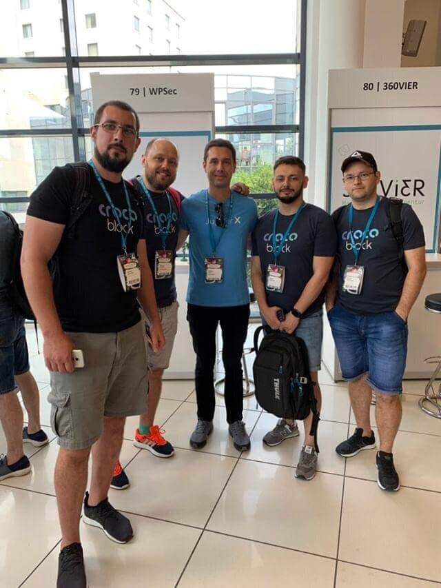 WordCamp Europe 2019 - Crocoblock Team