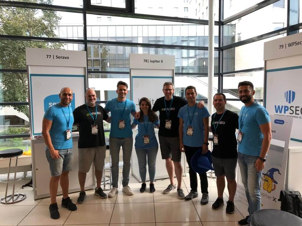 WordCamp Europe 2019 Envato Team