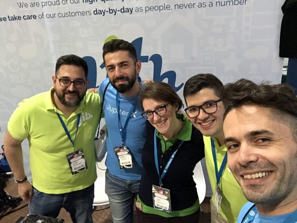 WordCamp Europe 2019 - Yithemes Booth