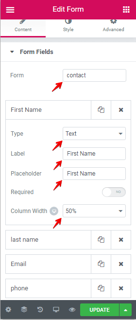 Create Custom Forms Screenshot 25