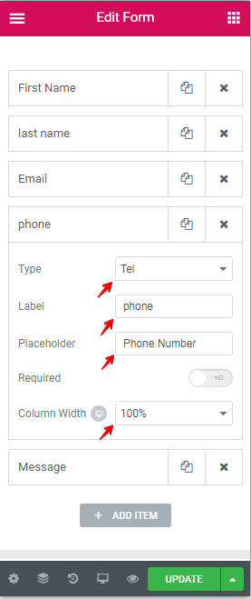 Create Custom Forms Screenshot 28