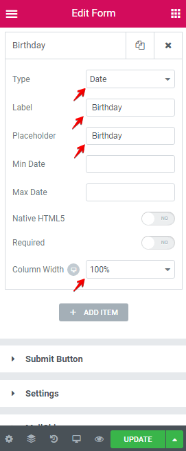 Create Custom Forms Screenshot 46