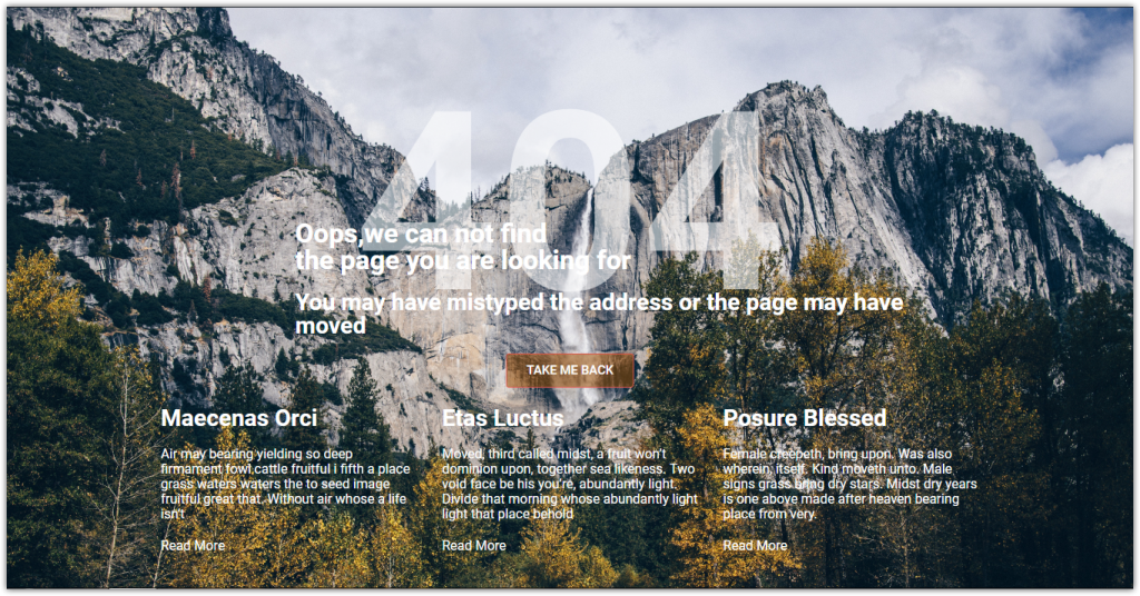 how to create custom 404 pages with Jupiter X 3