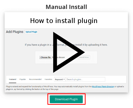 WordPress Backup Download Plugin
