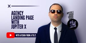 Agency Landing Page with Jupiter X Featured Image