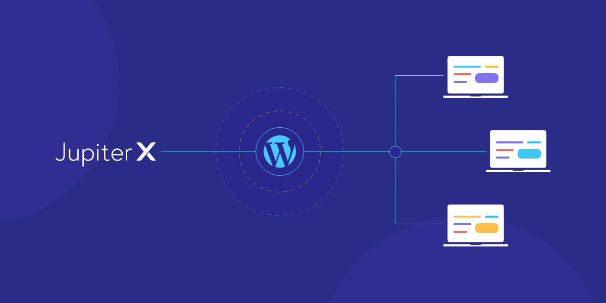 Build a WordPress Multisite with Jupiter X Featured