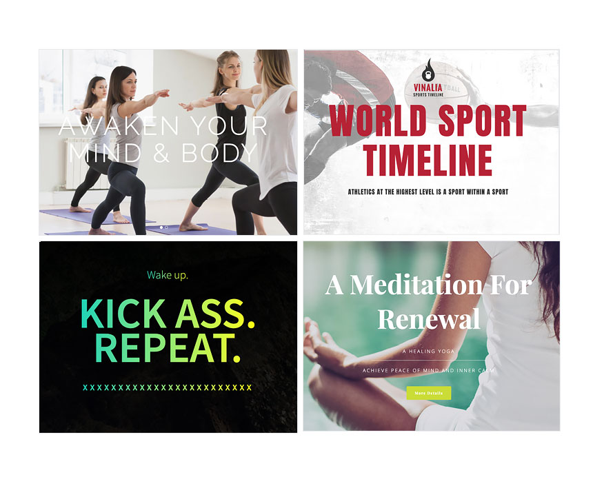 Typography Club Tips for your Next Sports Website