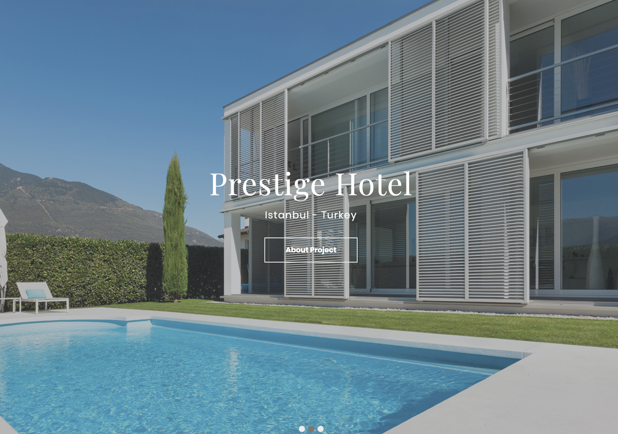 Creating a Hotel Website Slider