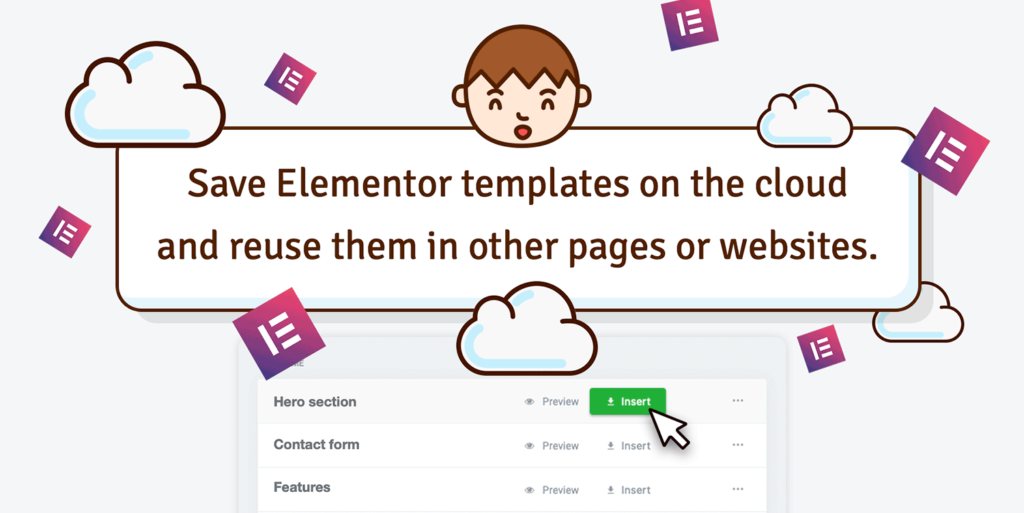 Preset and custom Elementor templates Featured