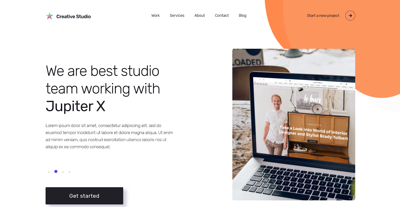 Creative Website Template