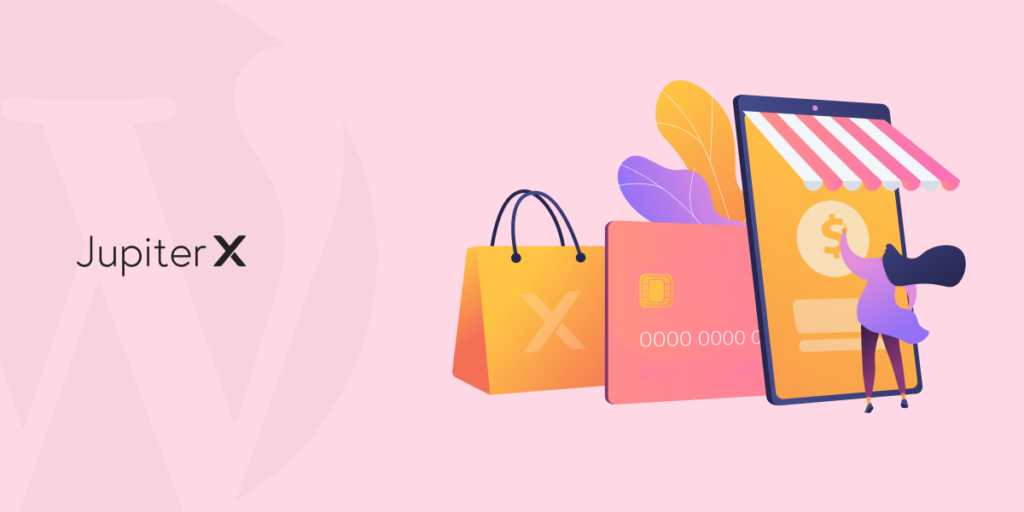 create an online store with Jupiter X featured 2