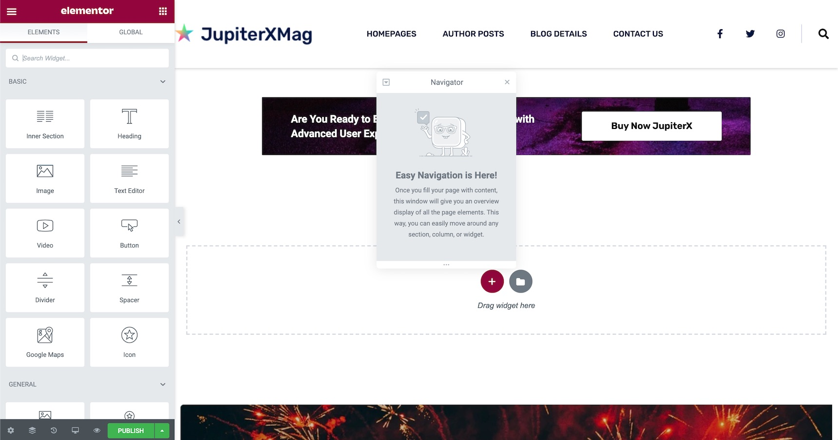 author's page in WordPress - add custom user page