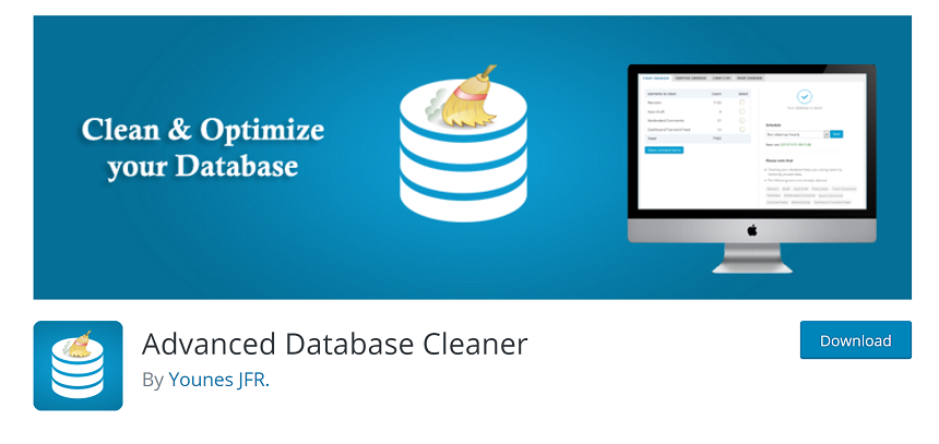 optimize a WooCommerce business website - advanced database cleaner