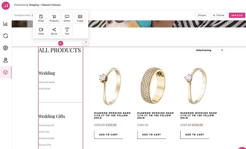 personalization to scale a WooCommerce website