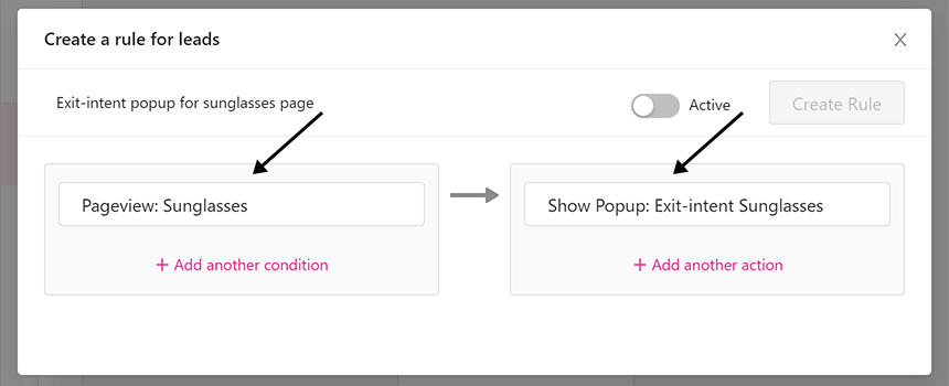WooCommerce conversion rate - show popup
