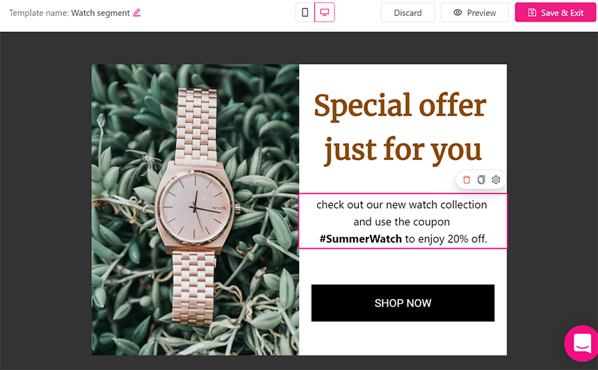 WooCommerce conversion rate - popup