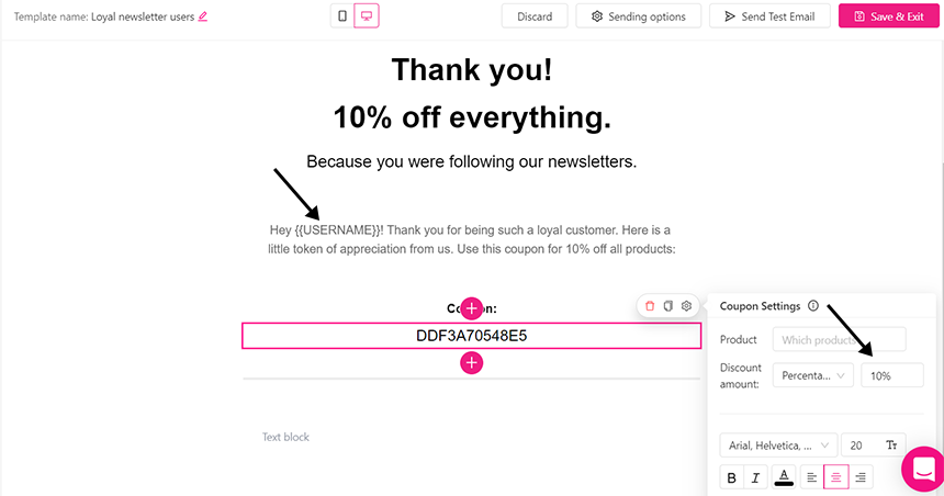 WooCommerce conversion rate - discounts